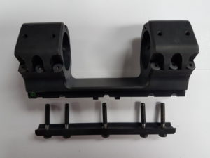 Scope Mount with Non-Removable Screws